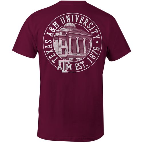Display product reviews for Image One Men's Texas A&M University Comfort Color T-shirt