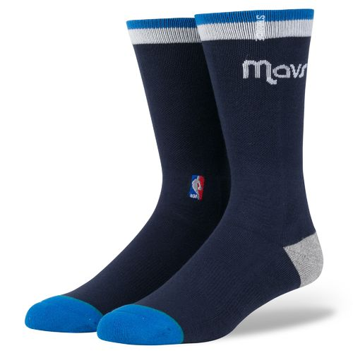 Stance Men's Dallas Mavericks Arena Logo Crew Socks