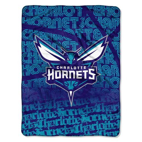 The Northwest Company Charlotte Hornets Redux Micro Raschel Throw