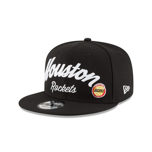 New Era Men's Houston Rockets 9FIFTY® City Stitcher