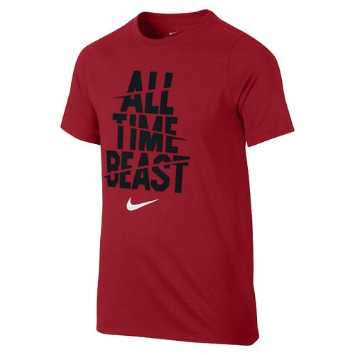 Nike Boys' Nike Dry All Time Beast T-shirt - view number 1