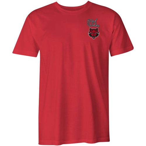Image One Women's Arkansas State University Laces and Bows Comfort Color T-shirt - view number 2