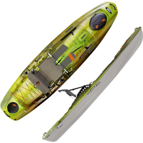 "Display product reviews for Pelican Premium The Catch 120 NXT 11'8"" Fishing Kayak"