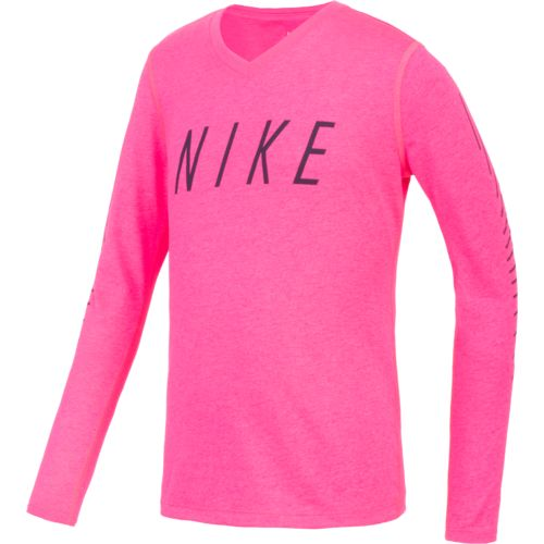 Nike™ Girls' Dry Matchsticks Training T-shirt