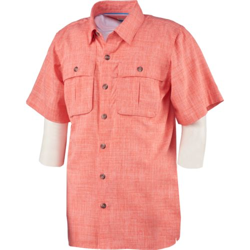 Display product reviews for Magellan Outdoors Boys' Back Country Heathered Fishing Shirt