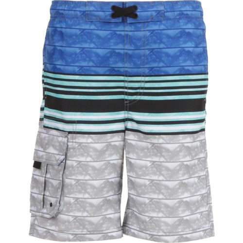 O'Rageous Boys' Painter Gradient E-boardshort