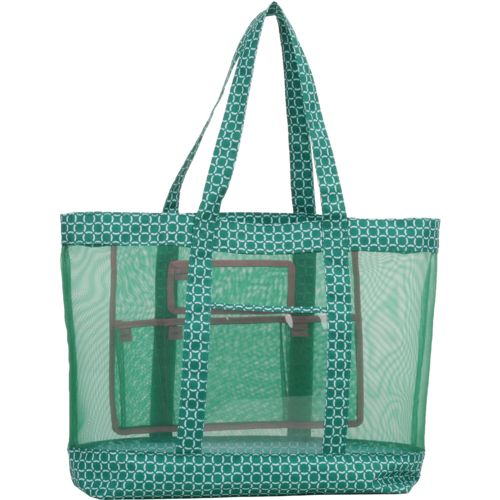 Academy Sports + Outdoors Mesh Beach Tote Circle