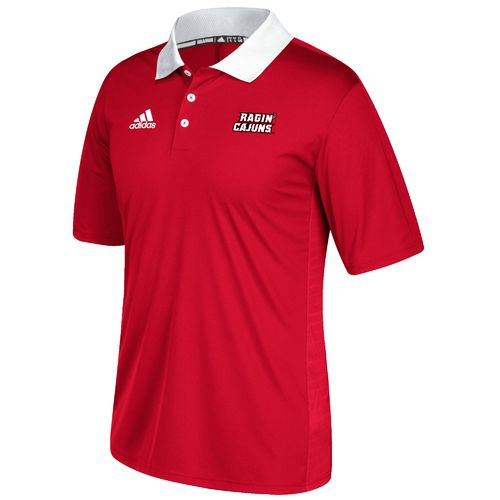 adidas Men's University of Louisiana at Lafayette Sideline Coaches Polo Shirt