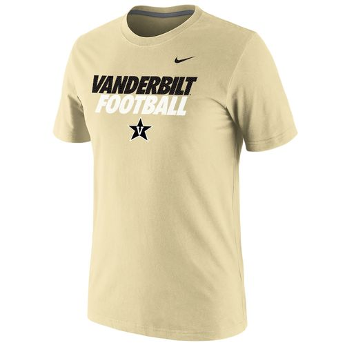 Nike™ Men's Vanderbilt University Cotton Short Sleeve T-shirt