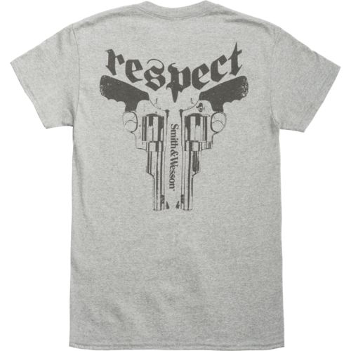Display product reviews for Smith & Wesson Men's Respect T-shirt