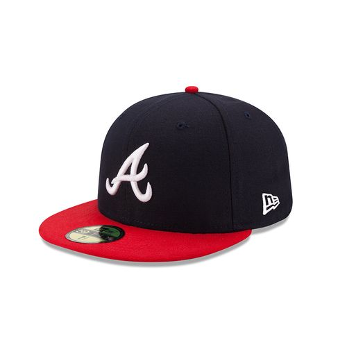 New Era Men's Atlanta Braves On-Field Authentic Collection 59FIFTY Cap - view number 1