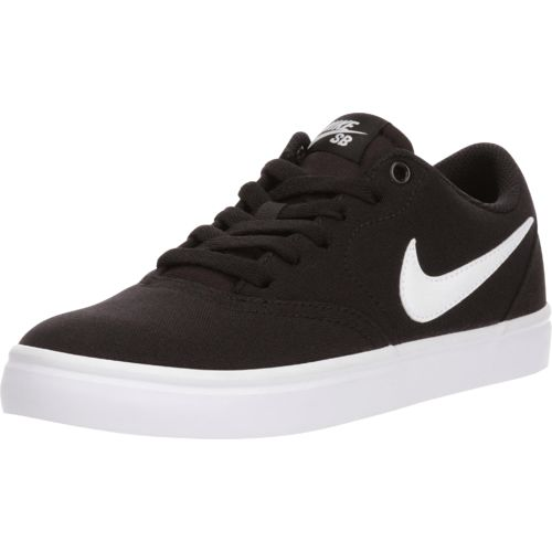 Nike Women's Check Solarsoft Canvas Skateboarding Shoes - view number 2