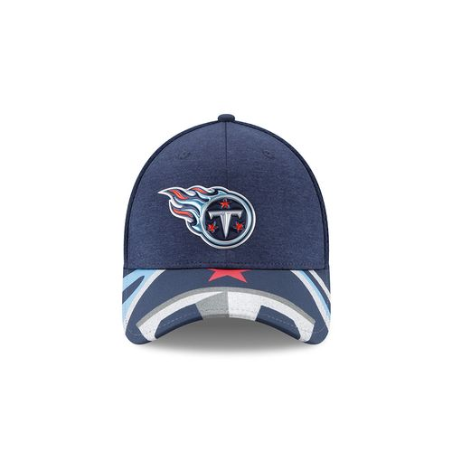 New Era Men's Tennessee Titans 39THIRTY NFL17 On Stage Cap - view number 10