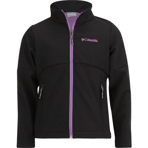Columbia Sportswear Girls' Brookview Softshell Jacket - view number 1
