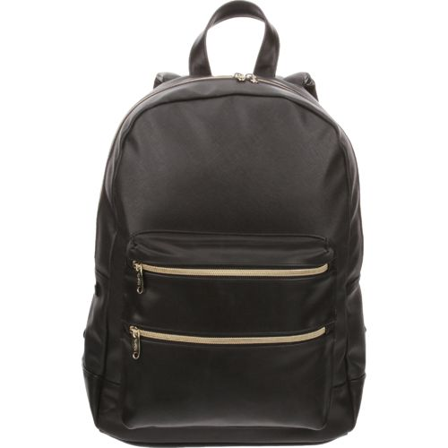 Emma & Chloe Girls' Hatch Leatherette Backpack