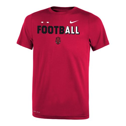 Nike Boys' University of Arkansas Legend Football T-shirt
