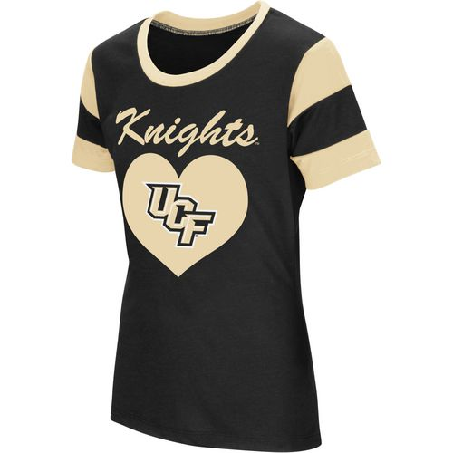 Colosseum Athletics Girls' University of Central Florida Bronze Medal Short Sleeve T-shirt