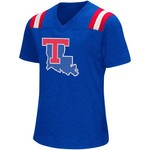 Colosseum Athletics Girls' Louisiana Tech University Rugby Short Sleeve T-shirt - view number 1