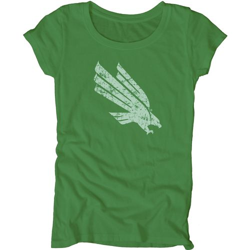 Blue 84 Juniors' University of North Texas Mascot Soft T-shirt