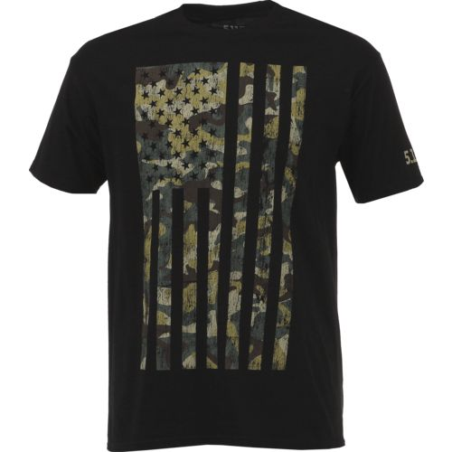 5.11 Tactical Men's Camo Flag Short Sleeve T-shirt