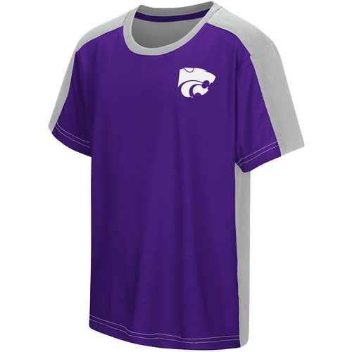 Colosseum Athletics Boys' Kansas State University Short Sleeve T-shirt