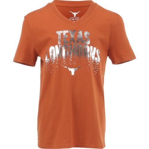 We Are Texas Girls' University of Texas Crumpette V-neck T-shirt - view number 1