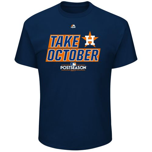 Display product reviews for Majestic Men's Astros Take October T-Shirt