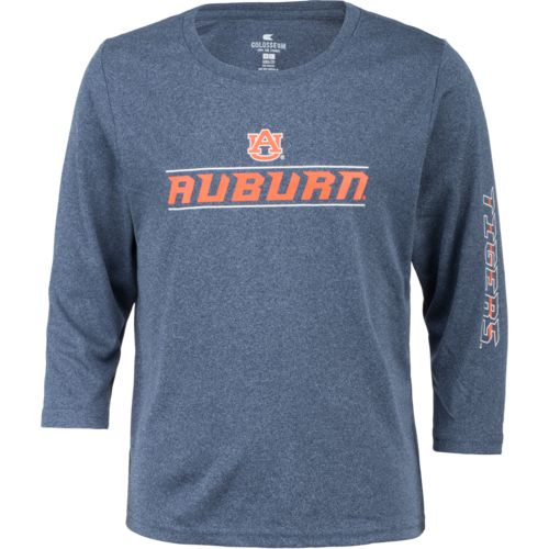 Colosseum Athletics Boys' Auburn University BF Long Sleeve T-shirt