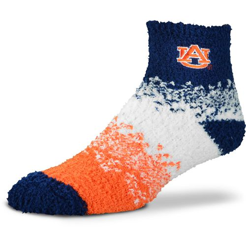 For Bare Feet Women's Auburn University Marquee Sleep Soft Quarter Socks