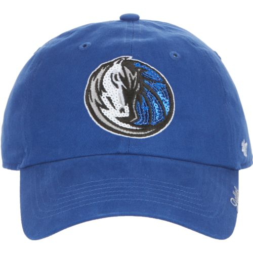 '47 Dallas Mavericks Women's Sparkle Clean Up Cap