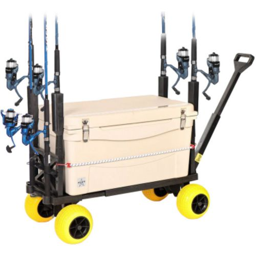 Display product reviews for Mighty Max Plus One Surf Fishing Cart Wagon with Wheels