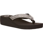 O'Rageous Women's Bling Wedge Flip-Flops - view number 2