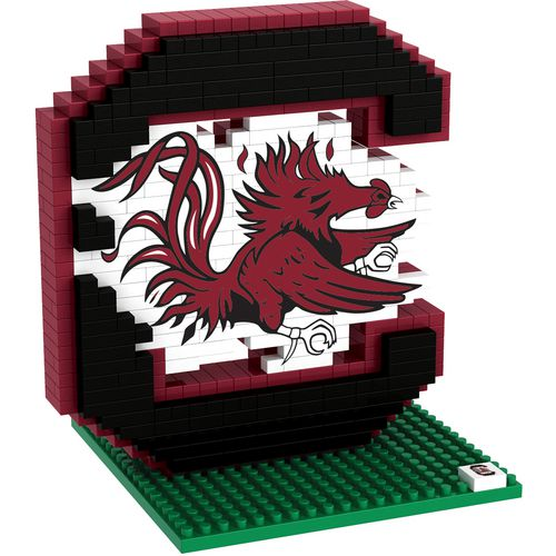 Forever Collectibles University of South Carolina 3-D BRXLZ Logo Puzzle