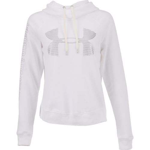 Display product reviews for Under Armour Women's Favorite Fleece Metallic Big Logo Hoodie