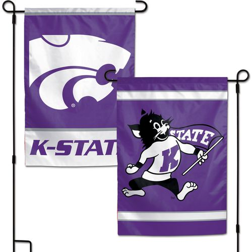 WinCraft Kansas State University 2-Sided Garden Flag
