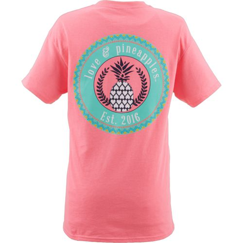 Love & Pineapples Women's Spring Logo T-shirt - view number 1