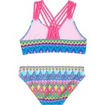 O'Rageous Girls' Deco Line 2-Piece Bikini - view number 2