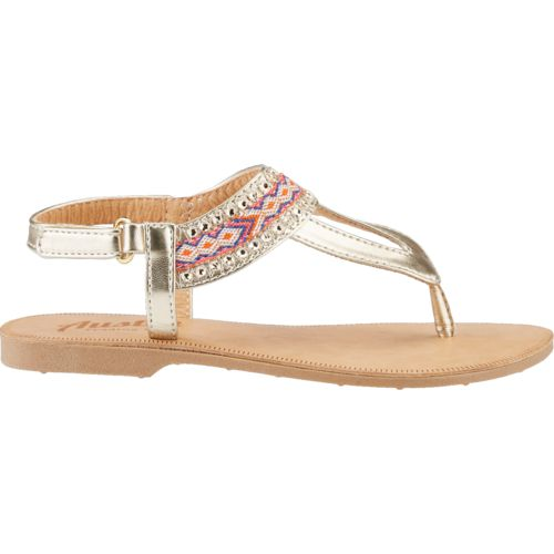 Austin Trading Co. Girls' Jeweled Band Thong Sandals