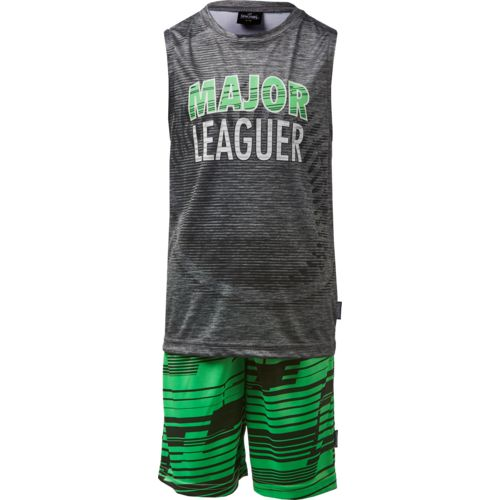 Spalding Toddler Boys' Major Leaguer Muscle Shirt and Shorts Set