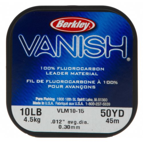 Display product reviews for Berkley® Vanish® Fluorocarbon Leader Material