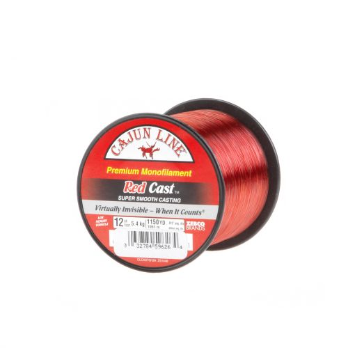 Cajun Line Red Cast 12 lb. - 1,105 yards Monofilament Fishing Line - view number 1