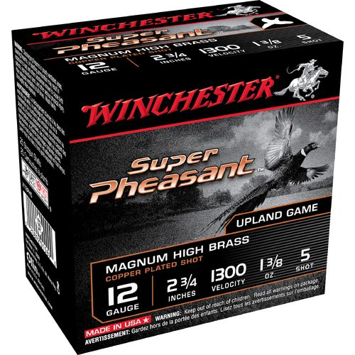 Winchester Super-X® 12 Gauge Game and Field Load Shotshells