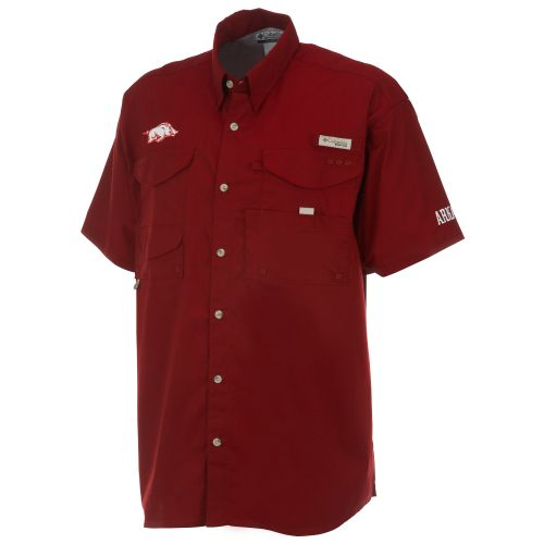 Columbia Sportswear Men's Collegiate Bonehead™ University of Arkansas Shirt