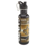 Great American Products Team-Themed 26 oz. Stainless-Steel Water Bottle