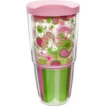 Tervis 24 oz. Pink and Green Paisley Wrap Tumbler with Lid