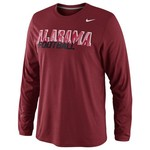 Nike Men's University of Alabama Legend Conference Long Sleeve T-shirt