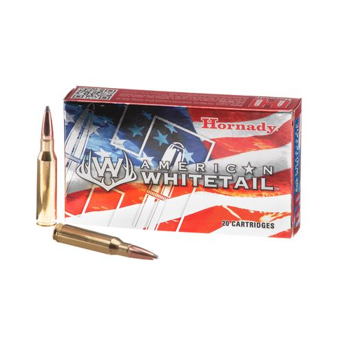 Hornady InterLock® SP American Whitetail™ 7mm-08 Rem 139-Grain Centerfire Rifle Ammunition - view number 1