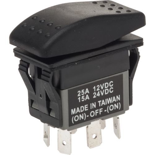Marine Raider Electrical Mom/Off/Mom Rocker Switch - view number 1