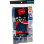 Hanes Boys' Boxer Briefs 5-Pack