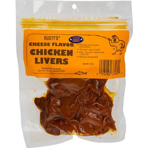 Rusty's 4 oz. Cheese Chicken Liver Catfish Bait - view number 1